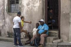 Cuba, de Mensen - Santiago 05