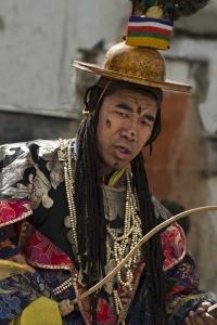 Hoofddanser Dorje Shunu (Vajrakali), TijiTiji festival, Lomantang-Mustang 05