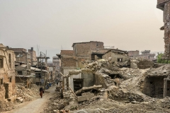 Bhaktapur na de aardbeving 2015