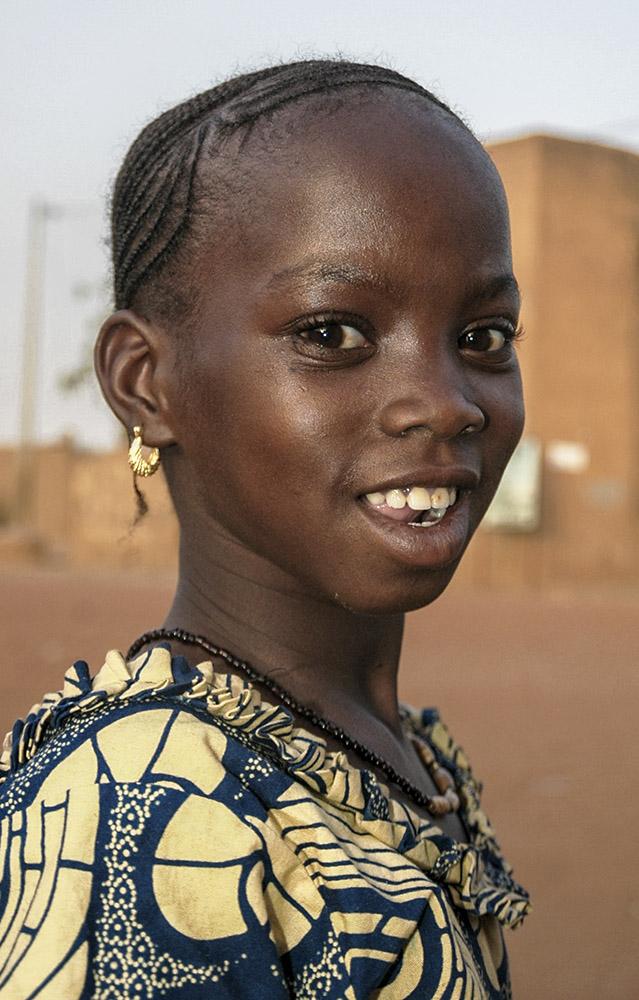 Meisje, Bandiagara-Mali