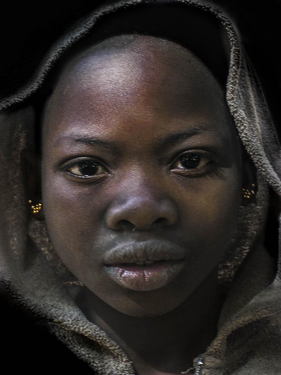 Dogon meisje,  Mali